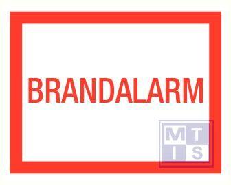Brandalarm pp 400x250mm