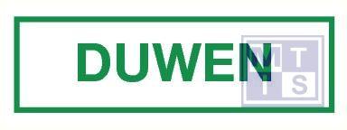 Duwen pp 40x90mm