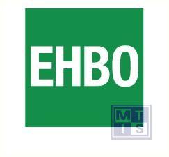 EHBO vinyl groen/wit 40x40mm greenline