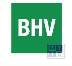 BHV groen/wit vinyl 40 x 40mm greenline