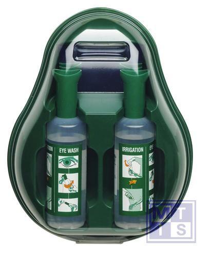 ATV Oogspoelstation met 2 fles 500ml steriele zoutoplossing