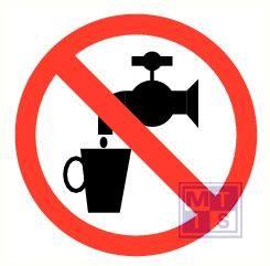 Geen drinkwater rond pp 50mm