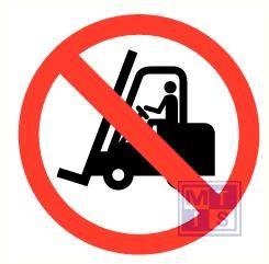 Verboden voor transportmiddelen pp 90mm