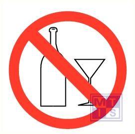 Glaswerk verboden pp 200mm