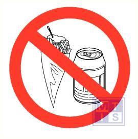 Friet en frisdrank verboden pp 200mm
