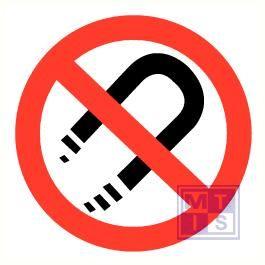 Magneten verboden vinyl 150mm