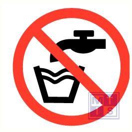 Geen drinkwater pp 200mm
