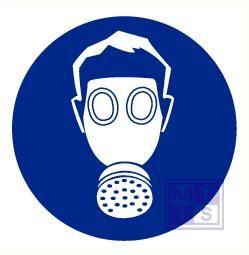 Adembescherming verplicht vinyl 50mm