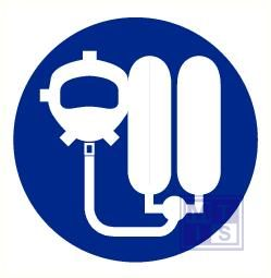 Ademhalingsapparaat verplicht pp 90mm