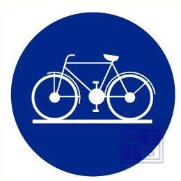 Fietsers cyclistes vinyl 200mm