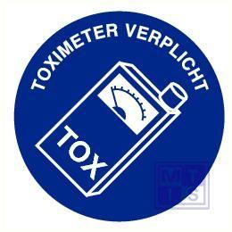 Toximeter verplicht vinyl 90mm