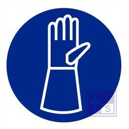 Handschoenen verplicht pp 200mm
