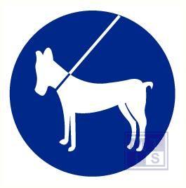 Honden aangelijnd pp 200mm