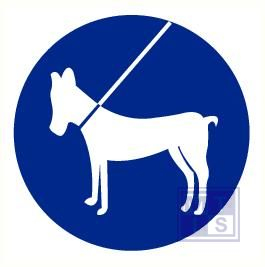 Honden aangelijnd pp 90mm