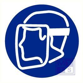 Gelaatsmasker verplicht vinyl 200mm