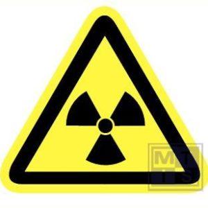 Radioactieve stoffen retrorefl. 150mm