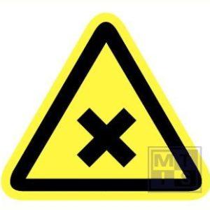 Schadelijke irriterende stoffen pp 150mm