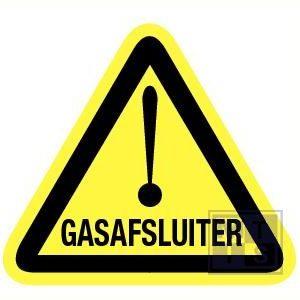 Gasafsluiter vinyl 200mm