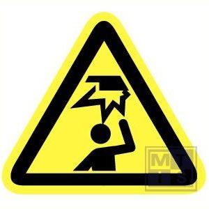 Pas op voor hoofd stoten vinyl 200mm