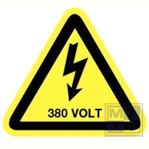 380 Volt vinyl 90mm