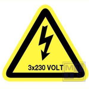 3x230 volt vinyl 90mm