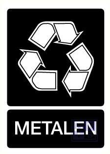 Metalen vinyl 210x297mm