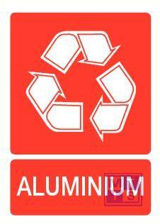 Aluminium vinyl 150x210mm