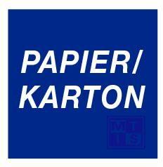 Papier/karton vinyl 200x200mm