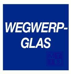 Wegwerpglas pp 100mm