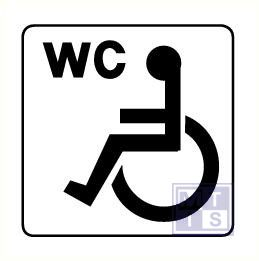 Invalide wc alu 125x125mm