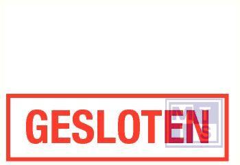 Gesloten pp 250x80mm