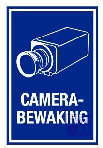 Camerabewaking alu 150x200mm