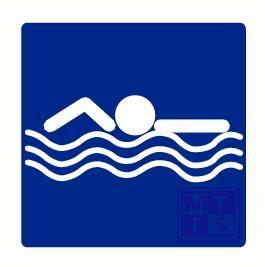 Zwemmen pp 100x100mm