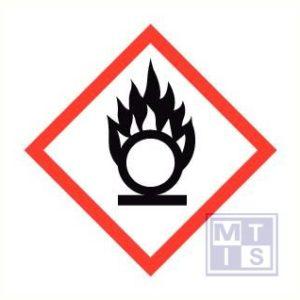 Oxid stof vinyl per 25 stuks 34x34mm