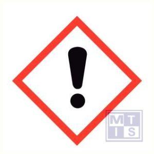 Gev Irrit ademen vinyl  47x47mm