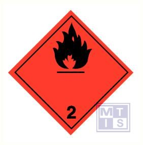 Brandbare gassen (2) pp 300x300mm