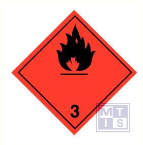 Brandbare vloeistoffen (3) vinyl 300x300mm