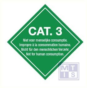 Cat. 3 vinyl 300x300mm