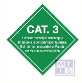 Cat. 3 vinyl 100x100mm