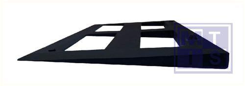 Hellingen rubber zwart 50x32cm verhoogstuk 2cm