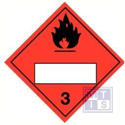 Flam liquid acetyleen (3) blanco vinyl 250x250mm
