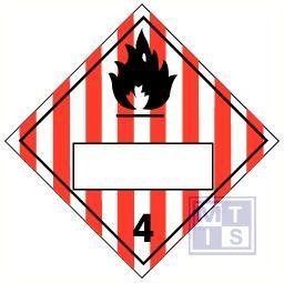 Brandbare ontplofbare vaste stoffen (4) vinyl 250x250mm