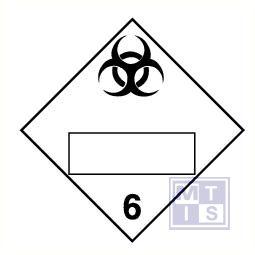 Infectueuze stoffen (6) vinyl 300x300mm
