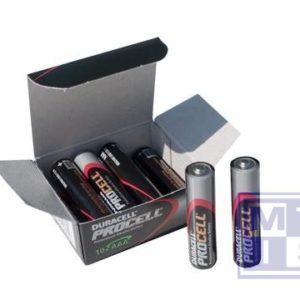 Duracell Industrial Batterij AAA/PC2400 potlood/P-10