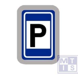 Aankondiging van een parking T2000 classe I 400x300mm