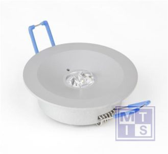 Escalight noodverlichting LED ronde lens inbouw