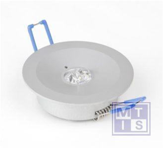 Escalight noodverlichting LED ovale lens inbouw