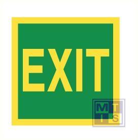 Imo exit vinyl fotolum 150x150mm