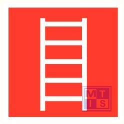 Ladder plexi fotolum recto/verso 150x150mm