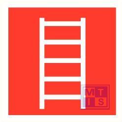 Ladder plexi fotolum recto 150x150mm